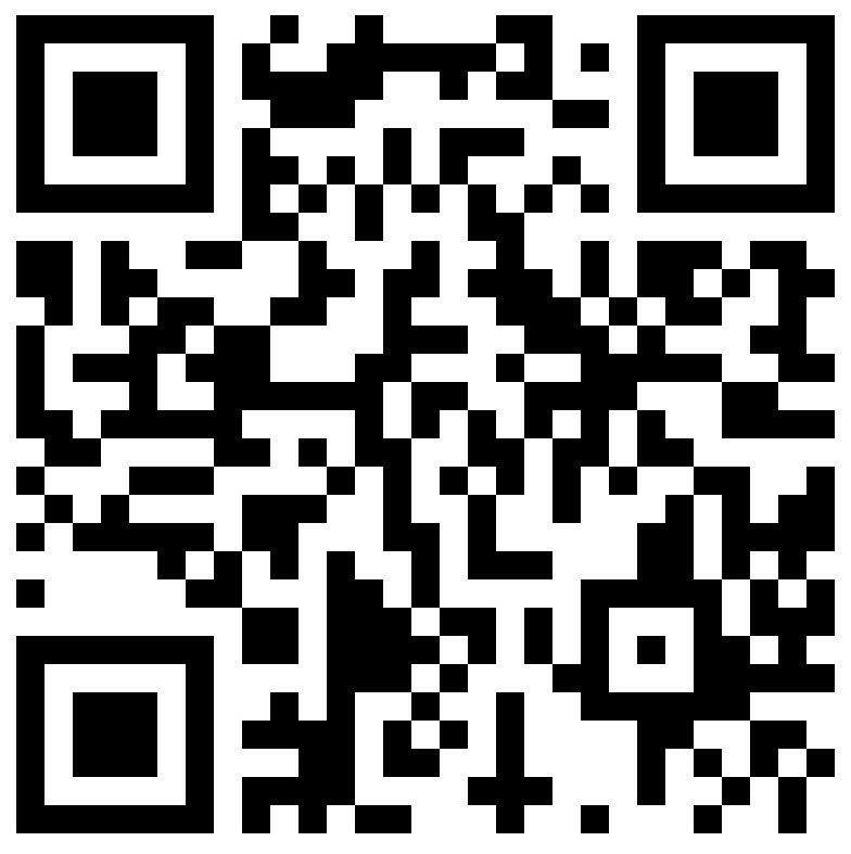 Bitcoin address QR code